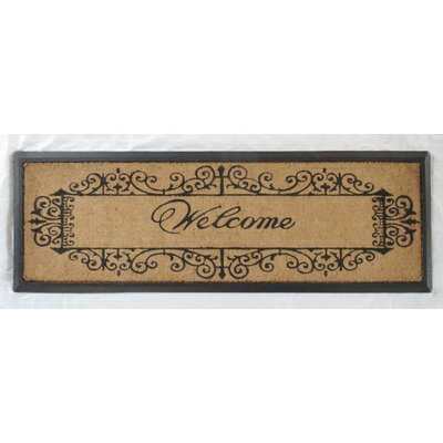 Artistic Welcome Double Doormat