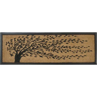 Falling Leaves Molded Double Doormat