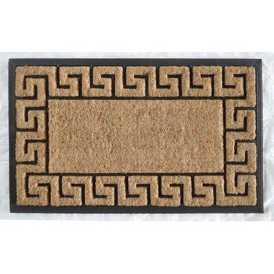 Greek Key Border Doormat