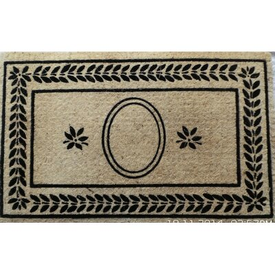 Leaf Border Doormat