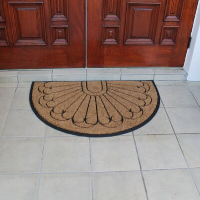 Half Moon Double Doormat