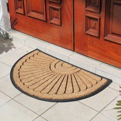 Half Round Princess Doormat