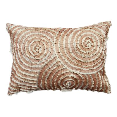 Spiral Cotton Throw Pillow