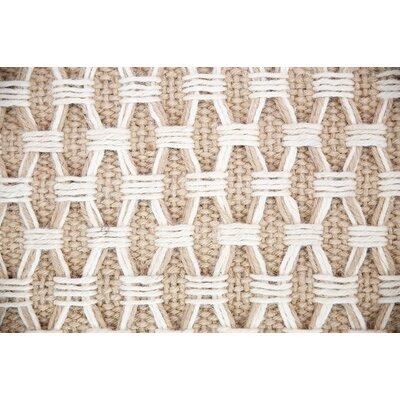 Hand-Woven Beige Indoor/Outdoor Area Rug