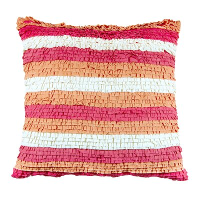 Striped Cotton Throw Pillow