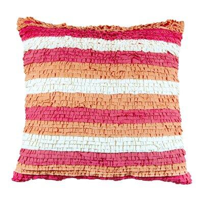 Striped Cotton Throw Pillow