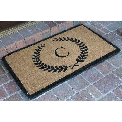 First Impression Doormat Letter: C