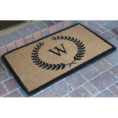 First Impression Doormat Letter: W