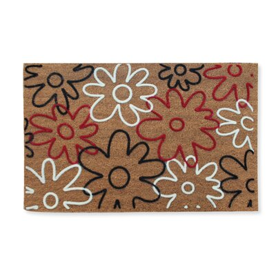 First Impression Qiana Flowers Entry Doormat