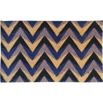 Chevron Coir Doormat