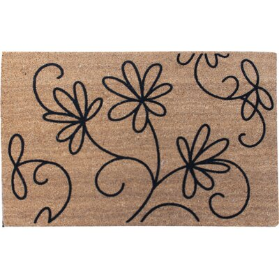 First Impression Jasmine Coco Entry Doormat