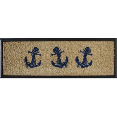 First Impression Anchor Doormat