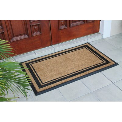 First Impression Markham Border Doormat