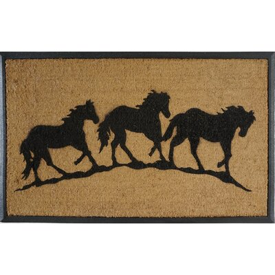 First Impression Horse Doormat