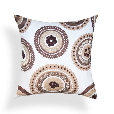 Suzani Cotton Throw Pillow