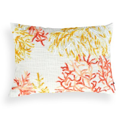 Janice Lacework Cotton Lumbar Pillow