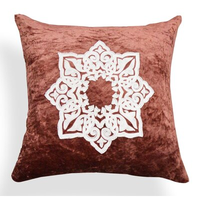 Mia Medallion Cotton Throw Pillow