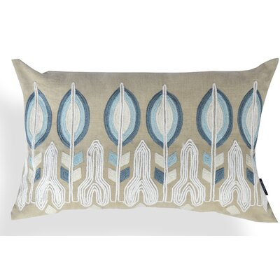 Thalia Floral Cotton Lumbar Pillow