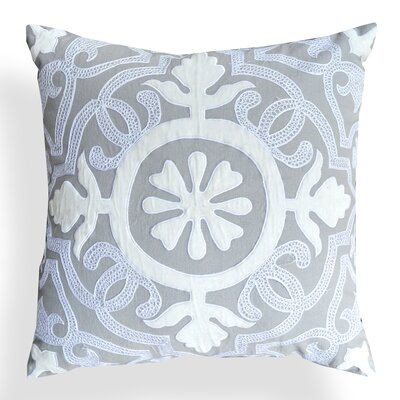 Laverna Floral Cotton Throw Pillow