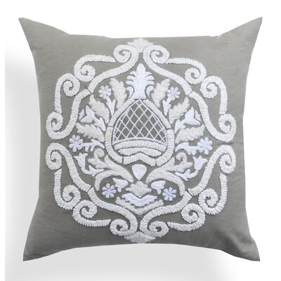 Brigid Baroque Cotton Throw Pillow