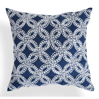 Aimee Kantha Cotton Throw Pillow
