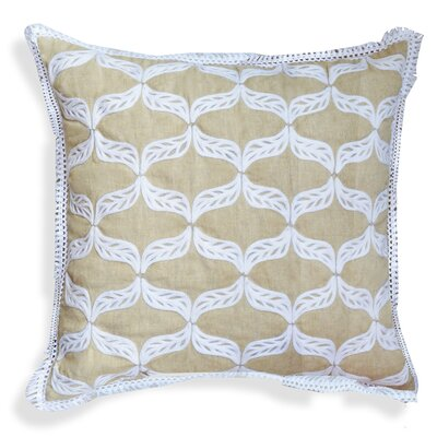 Gloria Ogee Cotton Throw Pillow