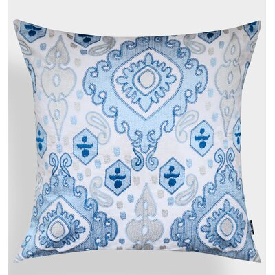 Ikat Elza Cotton Throw Pillow
