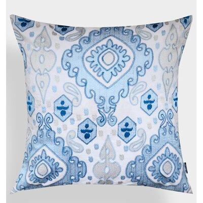 Ikat Elza Cotton Throw Pillow