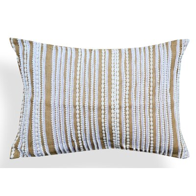 Judith Jute Lace Lumbar Pillow