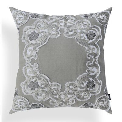 Bernadette Applique Cotton Throw Pillow