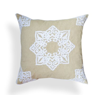 Georgette Cotton Throw Pillow