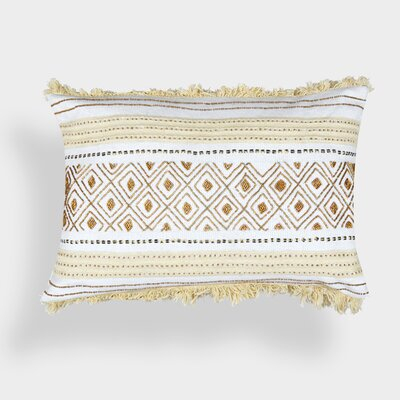 Evelyn Cotton Throw Pillow