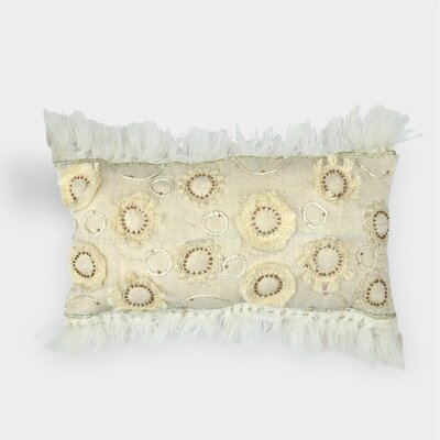 Ellie Cotton Throw Pillow
