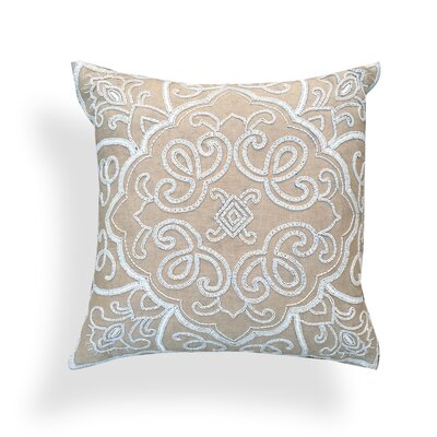 Sally Cotton Throw Pillow