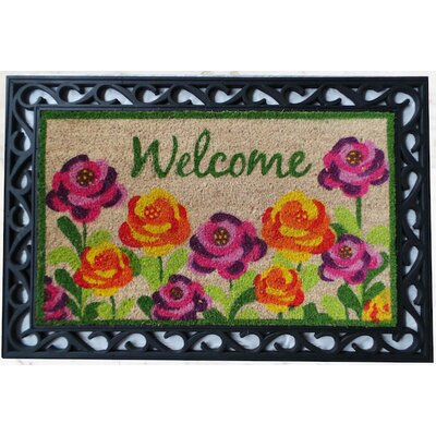 Roses Welcome Doormat