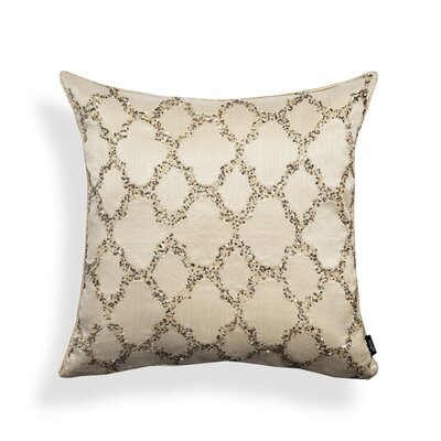 Bead Work Ogee Throw Pillow
