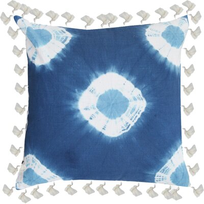 Anthea Tie and Die Cotton Throw Pillow
