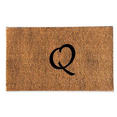 First Impression Monogrammed Doormat Letter: Q