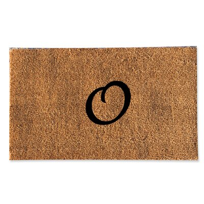 First Impression Monogrammed Doormat Letter: O