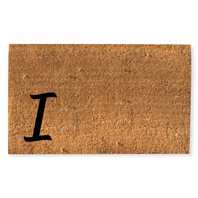 First Impression Monogrammed Doormat Letter: I