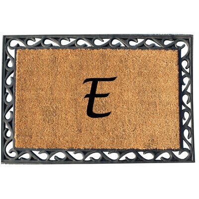 First Impression Tray Doormat Letter: E