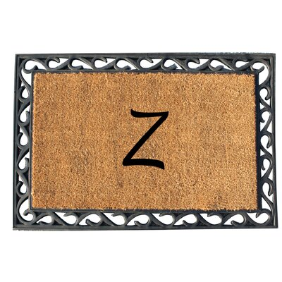 First Impression Tray Doormat Letter: Z