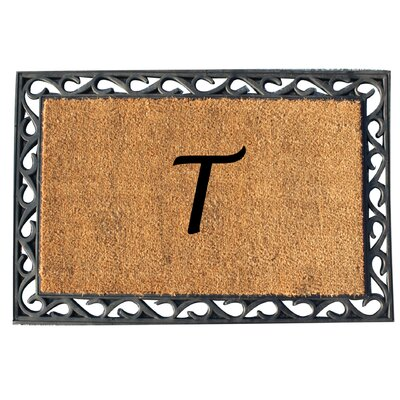 First Impression Tray Doormat Letter: T