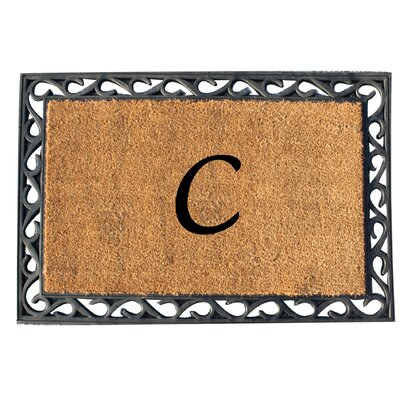 First Impression Tray Doormat Letter: C
