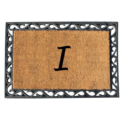 First Impression Tray Doormat Letter: I
