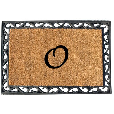 First Impression Tray Doormat Letter: O