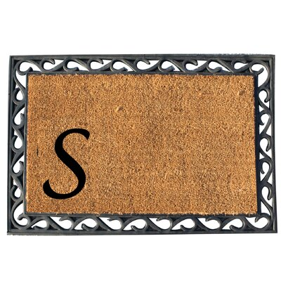 First Impression Doormat Letter: S