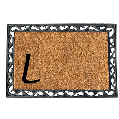 First Impression Doormat Letter: L