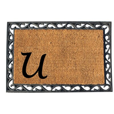 First Impression Doormat Letter: U