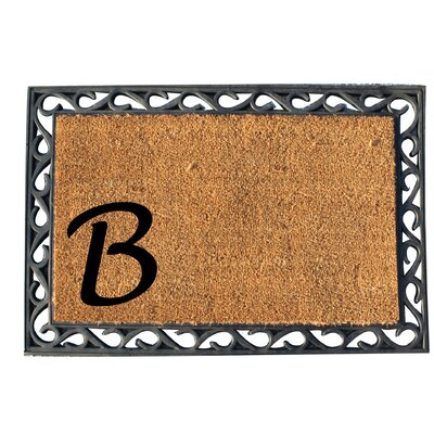 First Impression Doormat Letter: B